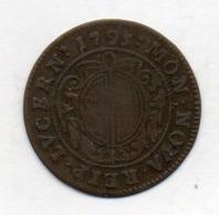 Suisse Canton LUZERN, 1/2 Batzen`, Billon, 1795, KM #89 - Schweiz