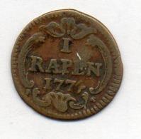 Suisse Canton LUZERN, 1 Rappen`, Copper, 1774, KM #75 - Schweiz