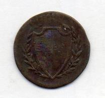 Suisse Canton LUZERN, 1 Rappen`, Copper, 1831, KM #115 - Schweiz