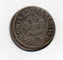 Suisse Canton LUZERN, 1 Schilling, Billon, 1638, KM #25 - Schweiz