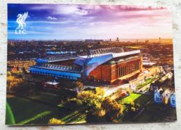 Liverpool FC Anfield Road Stadium Cartolina Stadio Postcard Stadion AK Carte Postale Stade Estadio 1/10 - Calcio