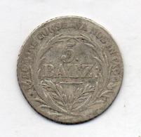 Suisse Canton LUZERN, 5 Batzen, Silver, 1815, KM #112 - Schweiz