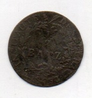 Suisse Canton NEUCHATEL, 1/2 Batzen, Billon, 1808, KM #68.1 - Schweiz