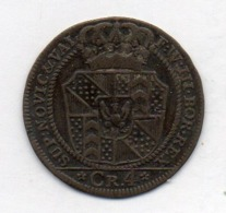 Suisse Canton NEUCHATEL, 4 Kreuzer, Billon, 1800, KM #63 - Schweiz
