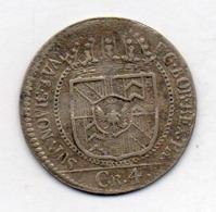 Suisse Canton NEUCHATEL, 4 Kreuzer, Silver, 1791, KM #49 - Schweiz