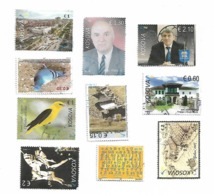 Kosovo Lot Of 10 Stamp - Kosovo