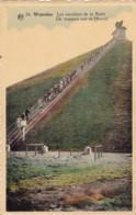 Waterloo Les Escaliers De La Butte Circulée En 1958 Voir Verso Cachet - Waterloo