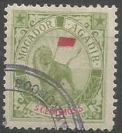 MAROC - Postes Locales - Mogador à Agadir - N° 76 Yvert & Tellier Oblitéré Avec Gomme - Bel Exemplaire - Marruecos (1891-1956)