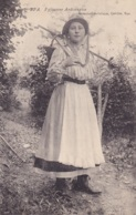 Spa Paysanne Ardennaise Circulée En 1908 - Spa
