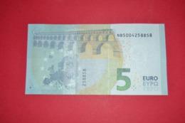AUSTRIA / ÖSTERREICH - 5 EURO N018 J5 -  NB5004258858 - UNC - NEUF - EURO