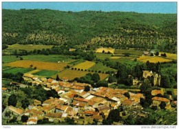 Carte Postale 04.  Allemagne-en-Provence  Vue D'avion Trés Beau Plan - France