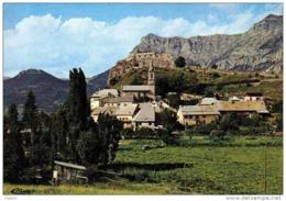 Carte Postale 04. Saint-Vincent-les-Forts  Et Le Grand Morgon Trés Beau Plan - France