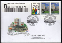 United Nations Wien Vienna 1999 / WIPA 2000 / Philatelic Exhibition / R Letter - Briefmarkenausstellungen