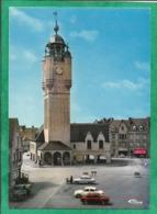 """Bergues (59) Le Beffroi 2scans 27-07-1977 (Le Creusot) Voitures Bonneterie """"C. Hain Super égé"""" Camion - Bergues"""