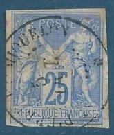 Colonies Générales N°36 Sage 25c - Cachet Manuel SAINT PIERRE ET MIQUELON - Sage
