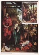 Carte Maximum Peinture Tchad 1975 Martin Schongauer - Chad (1960-...)