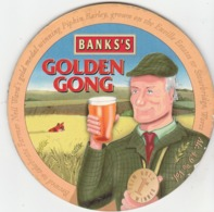 BANKS'S BREWERY (WOLVERHAMPTON, ENGLAND) - GOLDEN GONG - PUMP CLIP FRONT - Signs