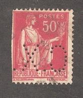 Perforé/perfin/lochung France No 283 C.X. Sté Des Mines De Carmaux - Gezähnt (Perforiert/Gezähnt)