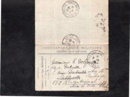 CORRESPONDANCE MILITAIRE - TROUPES EN CAMPAGNE / Exp Chirurgien De L'Hopital Mobile Alsacien / Carte Lettre - Storia Postale