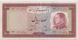 PERSIA P.  67 100 R 1954 VF - Iran