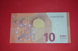 10 EURO - F002 G5 - F002G5 - FA2686201533 - UNC - NEUF - FDS - EURO