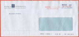 SAN MARINO - 2019 - P.P. + Ema, Red Cancel - Banca Centrale Della Repubblica Di San Marino - Viaggiata Da San Marino - Saint-Marin