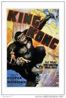Affiche Du Film - King-Kong,1933  - POSTCARD RP (24) - Size: 15x10 Cm. Aprox. - Afiches En Tarjetas