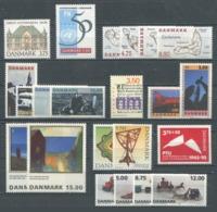 DANEMARK - Année Complète 1995 ** - TB - Danimarca