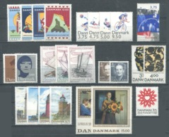 DANEMARK - Année Complète 1996 ** - TB - Danimarca