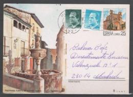 TARJETA ENTERO POSTAL 1991, TURISMO. Circulada. - 1931-....