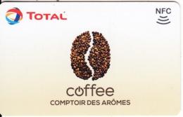 FRANCE - Total/Comptoir Des Aromes Recharge Card, Used - Andere Sammlungen