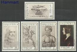 Albania 1969 Mi 1346-1350 MNH ( ZE2 ALB1346-1350dav83A ) - Pflanzen Und Botanik