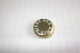 BEERCAPS BELGIUM/BIERDOPPEN BELGIË : BIERE DES AMIS - Beer