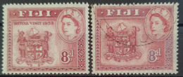 FIJI 1953 - MNH And Canceled - Sc#146 - Royal Visit 1953 - Fiji (...-1970)