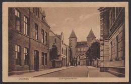 AK Dülmen Bei Coesfeld Lüdinghauser Str. Mit Tor 1925  (20351 - Duitsland