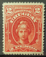 URUGUAY 1894 - MLH - Sc# 106 - 2p - Uruguay