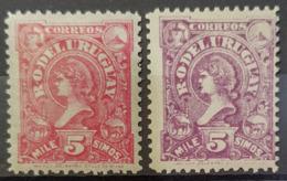 URUGUAY 1898/99 - MLH - Sc# 148, 149 - Uruguay