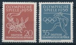 DDR - Olympische Spiele 1956 - Einwandfrei Postfisch/** - Sommer 1956: Melbourne