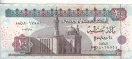 EGYPT 100 POUNDS EGP 2005 P-67e SIG/ OQDA #22 UNC PREFIX 48 CONVERGENT (CLOSE) - Aegypten