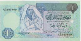 LIBYA P. 59a 1 D 1993 AUNC - Libya