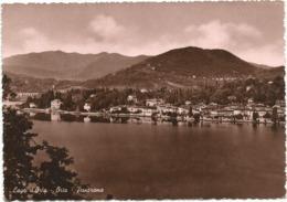 W5226 Lago D'Orta (Novara) - Orta - Panorama / Viaggiata 1953 - Altre Città