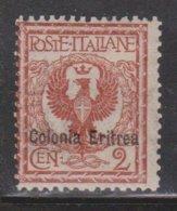 ERITREA Scott # 2 MH - Italian Stamp With Overprint - Eritrea