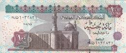 EGYPT 100 POUNDS EGP 2004 P-67e SIG/ OQDA #22 UNC PREFIX 34 CONVERGENT - Egypt