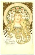 CPA Alfonse MUCHA Illustrateur Sarah Bernhardt Dans Théodora PUBLICITE Belle Jardinière Nantes, Lys ART NOUVEU - Mucha, Alphonse