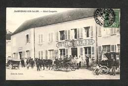 70 - DAMPIERRE SUR SALON - Hôtel Coupette - 1914 - RARE ,#70/017 - France