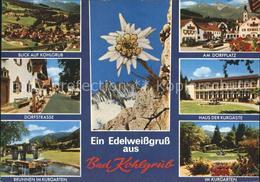 72375302 Bad Kohlgrub Total Dorfstr Brunnen Kurgarten Dorfplatz Haus Der Kurgaes - Deutschland