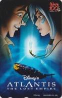 Télécarte NEUVE Japon / 110-016 - DISNEY - Film - ATLANTIS * THE LOST EMPIRE ** - Japan MINT Movie Phonecard - Disney