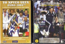 2 DVD's Of UEFA EURO 2004 And 2008 Unused In Original Unopened Packet - Sports