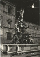 W5248 Bologna - Fontana Del Nettuno - Notturno Notte Nuit Night Nacht Noche / Viaggiata 1959 - Bologna