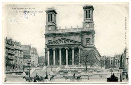 75010 PARIS - Les Eglises De Paris - N° 5 - Saint-Vincent-de-Paul - District 10
